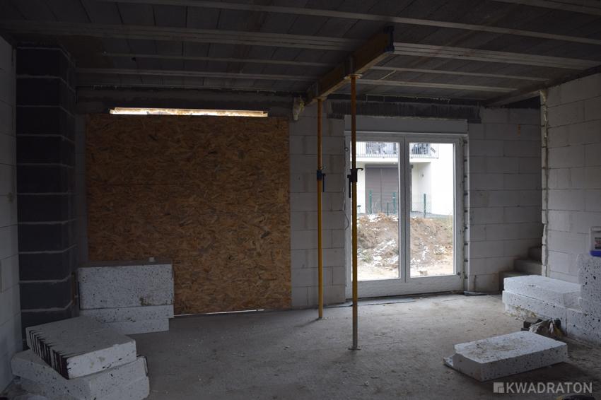 Kwadraton budowa salon