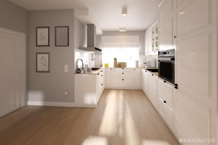 Wiosenne porządki – dom w stylu skandynawskim  Kwadraton -> Kuchnia W Bloku W Stylu Skandynawskim
