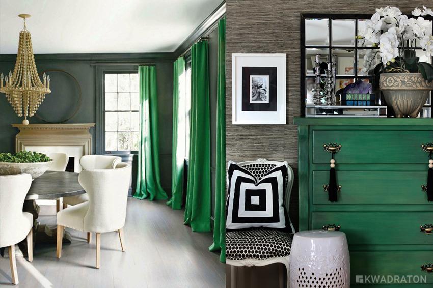 Kwadraton inspiracje wnetrze zielen